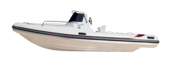 The first 5.60 meters semi-cab boat .